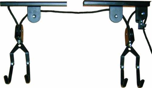 top-66321-supporto-bicicletta-da-soffitto-nero-schwarz-99-x-4-x-8-cm