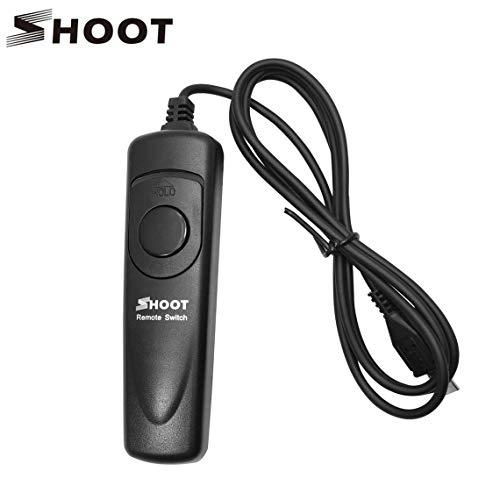 LCD SHOOT minuterie Télécommande Câble déclencheur RM-VPR1 pour Sony Alpha A7 / A7R / A5000 / A6000 / A58 / RX100II / RX100M3 / NEX-3N Vie morte