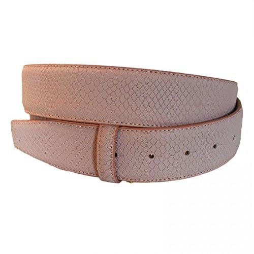 VMP Unisex Gürtel Serpico AME928 Leder verschiedene Farben, Größe:80;Farbe:Rosa