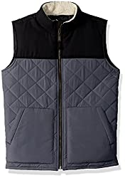 The Childrens Place Big Girls Quilted Vest, Black, XS (4)