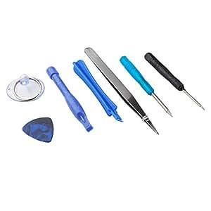 adaptare 96016 Ensemble d'outils 7 pièces avec tournevis Pentalobe pour Apple iPhone 4-7