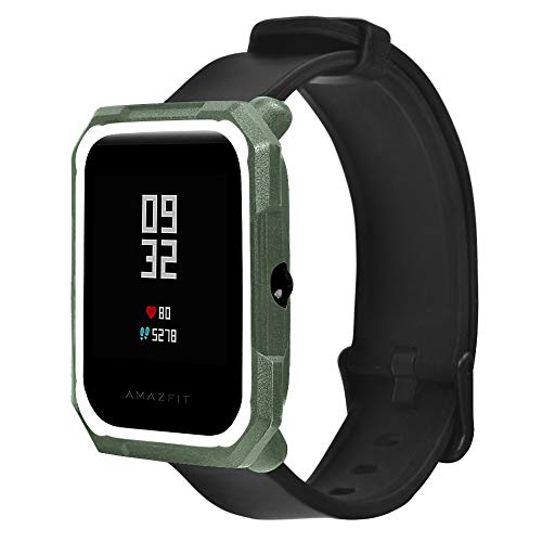 Smart Watches, Anti-Shock Soft TPU Protection Full Case Cover for Huami Amazfit Bip Youth Watch