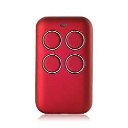 Kreema Multi-Frequency Key Fob 433 868 315 MHz Universal Garage Door Cloning Remote Control Fixed Code Rolling Code Duplicator Red
