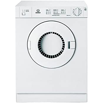 Indesit 3kg, reverse action Polar White Vented Dryer.