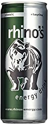 Rhino's Energy Drink Classic, 24er Pack, EINWEG (24 x 250 ml)