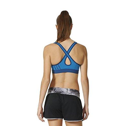 Adidas 3 X Sn Bra Brassière pour femme Unity Blue/Tech Steel