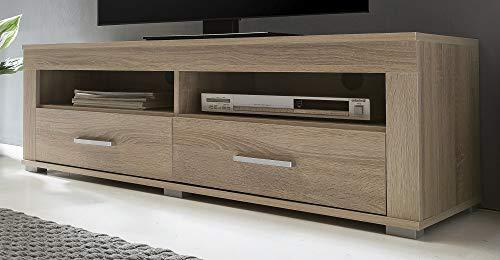 owboard Sonoma Eiche BV-VERTRIEB TV-Schrank TV-Lowboard Fernsehschrank Eiche - (3504)