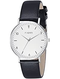 Fjord Analog White Dial Women's Watch- FJ-6037-01