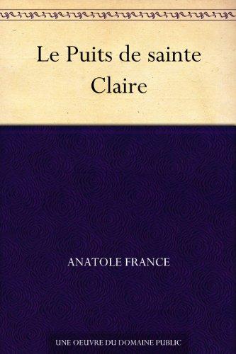 Couverture du livre Le Puits de sainte Claire