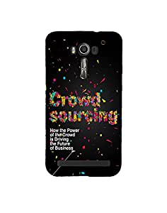 Aart Designer Luxurious Back Covers for Asus Zenfone 2 Laser ZE500KL by Aart Store.