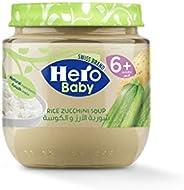 Hero Baby Rice Zucchini Soup, 120g