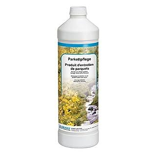 Almarit AM-Parkettpflege 1 Liter Flasche Boden Pflege Lösemittelfrei