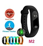M2 is a smart watch bracelet for you, especially for sports lovers! Do you know how many steps you take, how many calories you consume, and how far you run? Don't worry, when you wear the bracelet to do exercise, such as running, climbing, all these ...