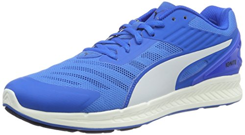 Puma Ignite V2 F6, Zapatillas Deportivas para Interior Unisex adulto, Azul (Electric Blue lemonade-PEACOAT-puma White 10), 42 EU (8 UK)
