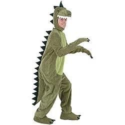 Nihiug Lujo Traje De Halloween Stage Performance Animal Traje Adulto Niños Niño Niños Dinosaurio Traje Padre Clásico Devil Terrible,A-ChildrenXLCode