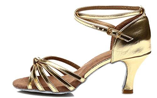 TDA - Peep-Toe donna 7.5cm Gold
