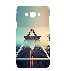 printtech Premium Latest Designer Barmuda Triangle Printed Back Case Cover for Samsung Galaxy Grand 3 G720 / Samsung Galaxy Grand Max G720
