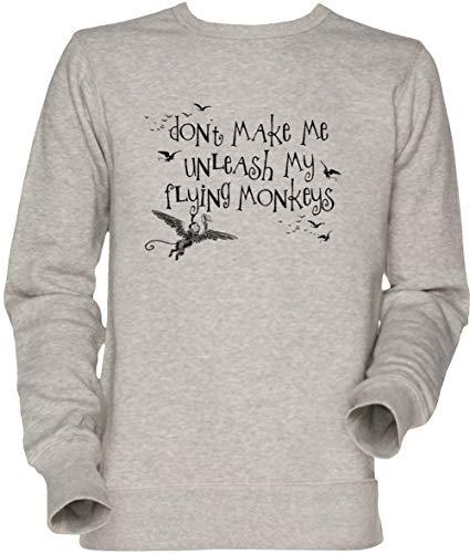 Wizard of Oz Inspired - Dont Make Me Release My Flying Monkeys Unisex Sweatshirt ()