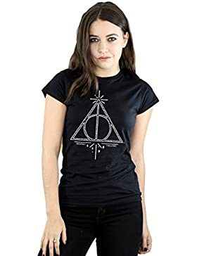 Harry Potter Mujer Deathly Hallows Symbol Camiseta