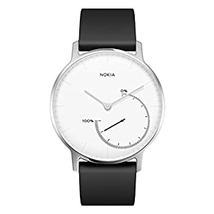 Nokia health Steel Reloj, Unisex Adulto, Blanco, 36 mm