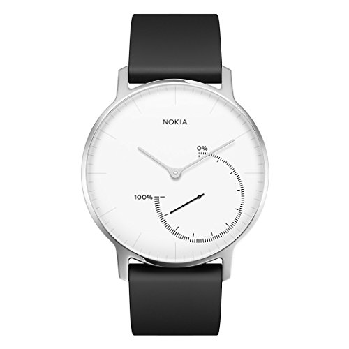 Nokia health Steel Reloj, Unisex Adulto, Blanco, 36 mm