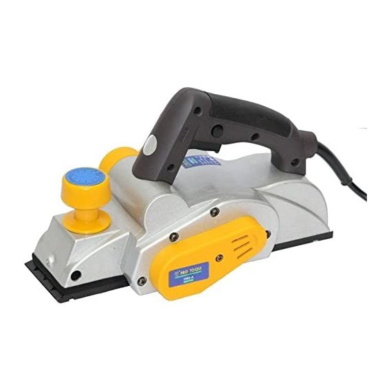 Digital Craft Powerful Electric Wood Hand Pro Tool Corded Planer (Multicolour, 1-82 mm)
