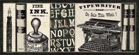 ingathome.it-LEINWANDDRUCK-Librarian-II-cm36x91-poster-bild-auf-leinwand ()