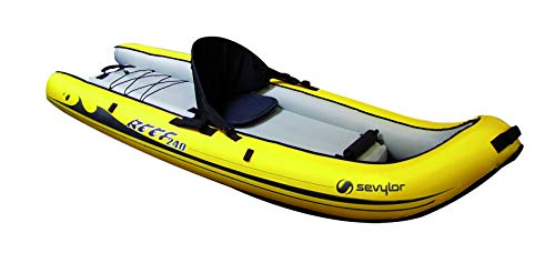 Sevylor Explorer 240-Sit 1 Personne Jaune Avec Sac Bote Inflable, Sit on...