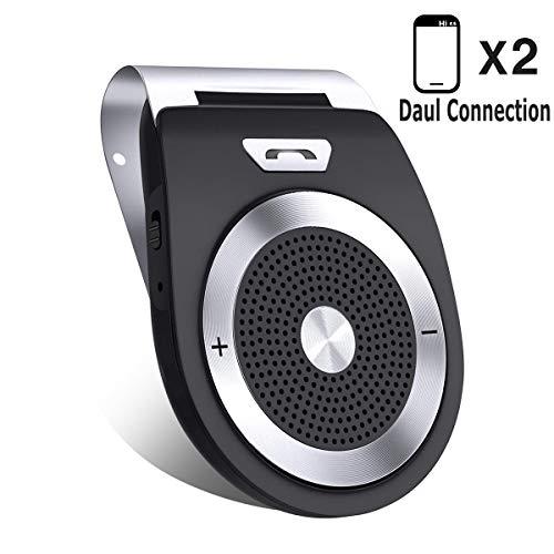 Altoparlante senza fili bluetooth, kit vivavoce per visore auto con ultima versione 4.1 per iphone, samsung, htc, lg, telefoni android