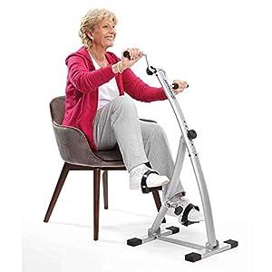 Bi-pedaler 08136 Folding Keep Fit Machine, Silver