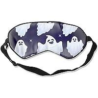Schlafmaske, wiederverwendbar, kalt, verbessert den Schlaf, Ödeme, Augen, Müdigkeit – Set von lustigem Halloween-Geister preisvergleich bei billige-tabletten.eu