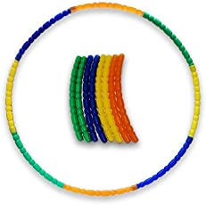 Kids Mandi Hula Hoops - Quality Weighted Children's Hula Hoops! Great for Exercise, Dance, Fitness and Fun!