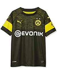 Puma BVB Away Original Jr Maillot, Unisex niños, Black, ...