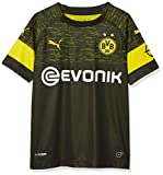 PUMA Kinder BVB Away Shirt Replica Jr Evonik with OPEL Logo Trikot, Black, 140