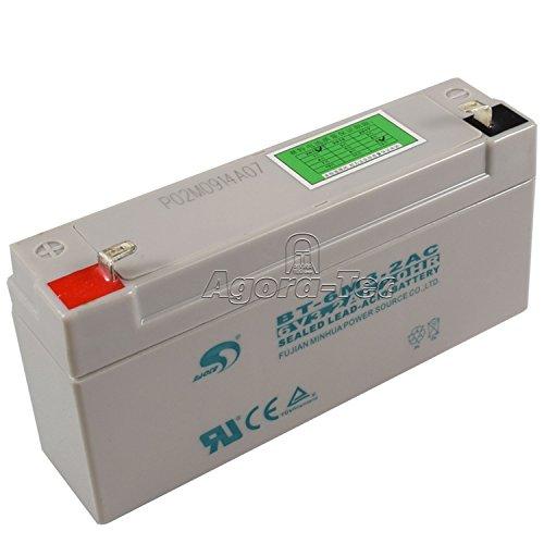 Agora-Tec® Ersatzakku für die Solar Teichpumpen-Sets AT-3.5W-BL und AT-3.5W-BLH mit 6V/3.2 Ah