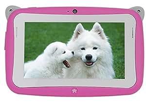 """JYJ écran 4,3"""" Pouces Mini Mignon Enfants Tablet Android 4.2 WIFI 4GB Double Caméra 5 Point Tactile Capacitif Rose"""
