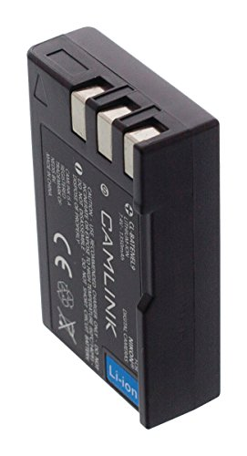 Eurosell - Premium Ersatz Lithium Ionen Akku Accu - Wiederaufladbare Batterie 7.4 V 1350 mAh - zb für NIKON® EN-EL9 D5000 D3000 D60 dSLR D60 D40X D40