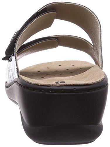 Rohde Herne, Chaussures de Claquettes femme Noir - Schwarz (schwarz 90)