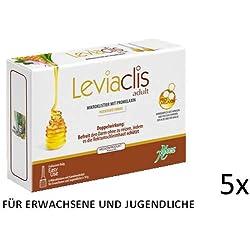 Verstopfung behandeln mit Leviaclis adults Sparset(5x6Mikroklistier) befreit den Darm indem es die Rektumschleimhaut schützt auch in der Schwangerschaft, Stilzeit und für Säuglinge gedacht für Erwachsene und Jugentliche ab 12Jahren