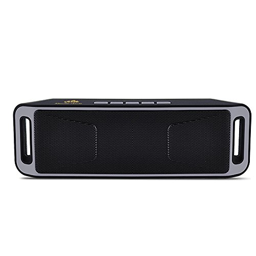Comprar barato micrael home wireless ultra portable bluetooth speaker with two passive subwoofers support micro card built