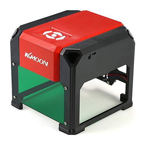 KKmoon Tipo K4 automático Nuevo Marca 3000mW Máquina,grabado