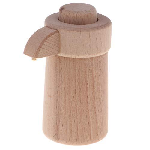l Kochutensilien Kochgeschirr Küche Spielzeug Spielküche Zubehör, aus Holz ()
