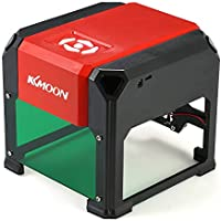 KKmoon Tipo K5 automático Nuevo Marca 3000mW Máquina de Grabado láser de Alta Velocidad, Herramientas de Quema de Madera con área de Grabado Grande de 80 * 80 mm Para WIN XP / 7/8/10 Superior