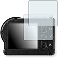 2x Golebo Crystal Clear screen protector for Nikon KeyMission 170 - (Transparent screen protector, Air pocket free application, Easy to remove)