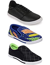 Scantia New Latest Fashionable With Stylish Attractive Look Men/Boys Combo Casual Trendy Shoes Comfortable To... - B078ZBHY74