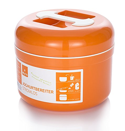 Stromloser My.Yo Joghurtbereiter, Mandarine thumbnail