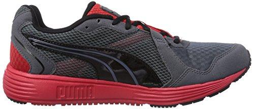 Puma Descendant v2, Scarpe fitness uomo Grigio (Grau (11 turbulence-black-red))