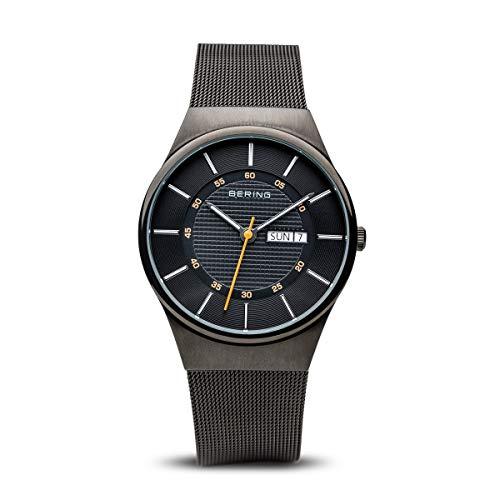 BERING Herren-Armbanduhr Analog Quarz Edelstahl 12939-222