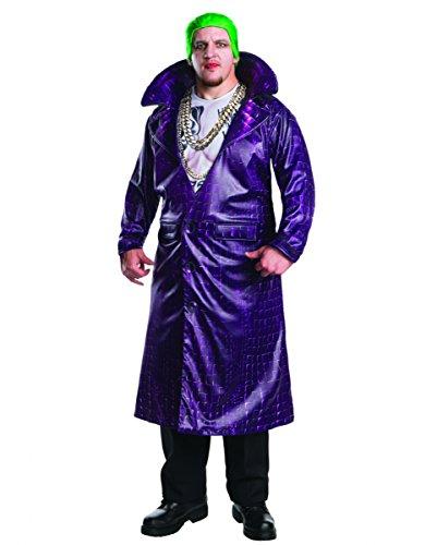 Joker Plus Kostüme Size (Joker Kostüm Deluxe Plus Size für Fasching &)