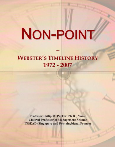 Non-point: Webster's Timeline History, 1972 - 2007